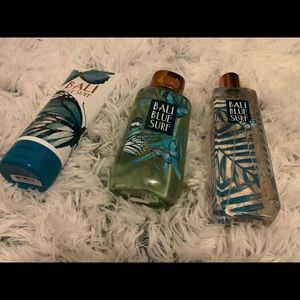 Bath and Body Works Bali Blue Surf Bundle